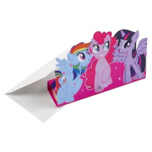 My Little Pony: Invitationer | Invitasjoner | Inbjudningar | Einladungen | Invitations